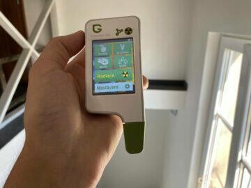 přístroj na měření dusičnanů v potravinách