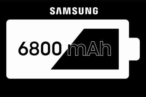 Samsung 6800 mAh baterie certifikace