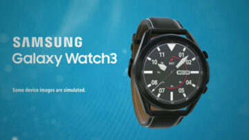 samsung galaxy watch 3 displej
