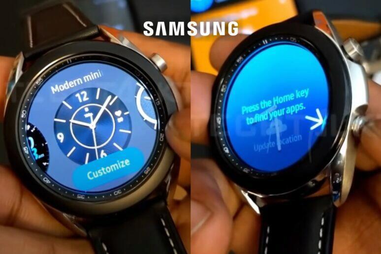 Samsung Galaxy Watch 3 video
