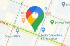 semafory Google Mapy