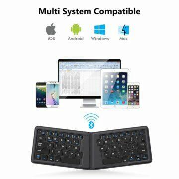 Skládací Bluetooth klávesnice AVATTO A20 konektivita
