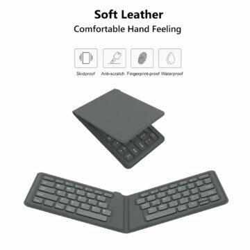 Skládací Bluetooth klávesnice AVATTO A20 vlastnosti