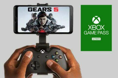 sloučení Xbox Game Pass xCloud