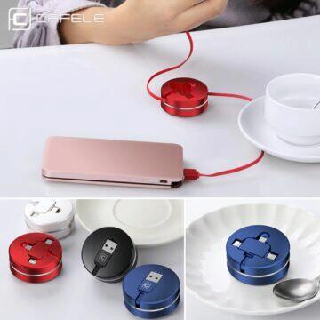 Svinovací univerzální kabel CAFELE barvy