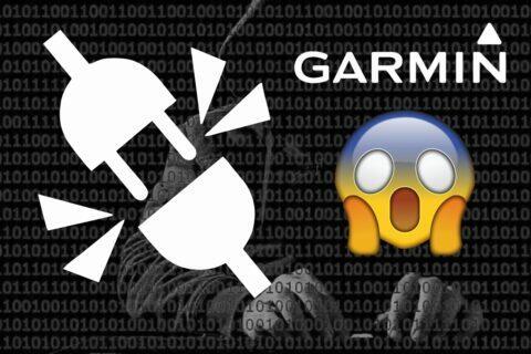 výpadek Garmin služeb