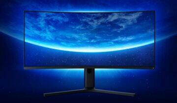 xiaomi herní prohnutý monitor