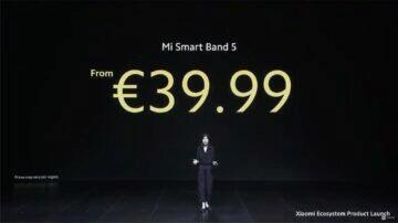 Xiaomi Mi Band 5 globální verze cena