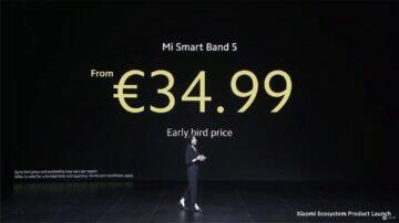 Xiaomi Mi Band 5 globální verze cena early bird