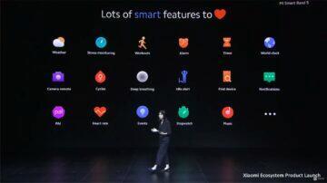 Xiaomi Mi Band 5 globální verze funkce