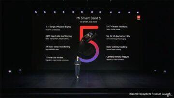 Xiaomi Mi Band 5 globální verze parametry