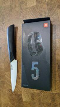Xiaomi Mi Band 5 krabička otevírání