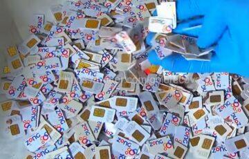zlato ze SIM karet
