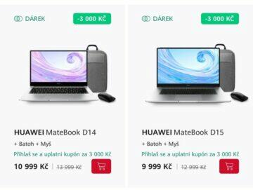 Huawei akce notebook