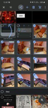 4 odesílání sdílení fotek z mobilu Fotky Google výběr fotek