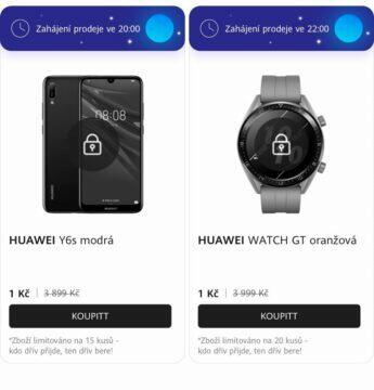 Huawei akce hodinky