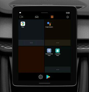 Android Automotive OS Polestar 2 emulátor