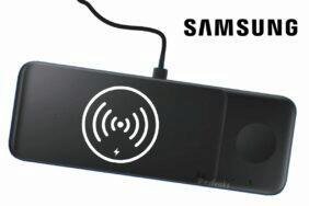bezdrátová nabíječka Samsung Wireless Charger Pad Trio fotka