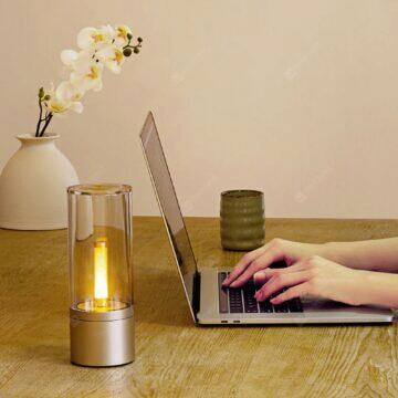 Bezdrátová retro lampička Yeelight pracovní stůl