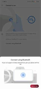bluetooth připojení