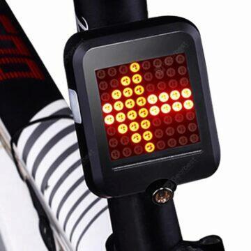 Chytré zadní světlo na kolo