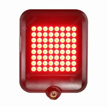 Chytré zadní světlo na kolo 64 LED