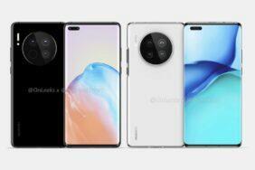 čtyři varianty Huawei Mate 40