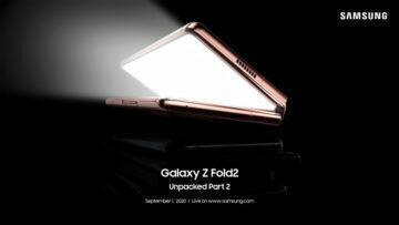 datum uvedení Samsung Galaxy Z Fold 2