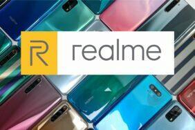 design nevyrobených Realme telefonů