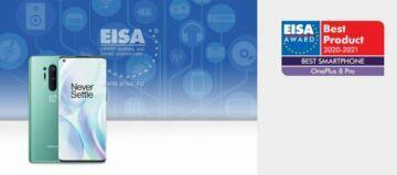 EISA 2020 nejlepší telefon OnePlus 8 Pro