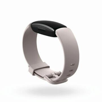Fitbit Inspire 2 lunar white profil