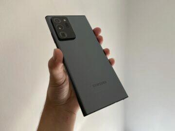 Galaxy Note 20 Ultra 5G dorazil do redakce svět androida
