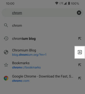 google chrome 85 android