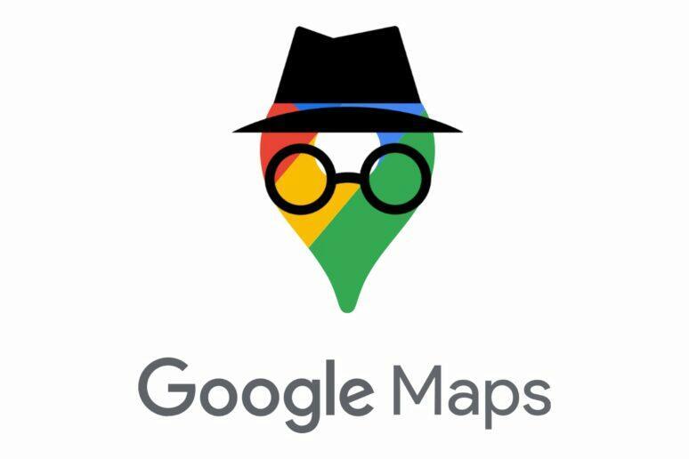 Google Mapy anonymni mod