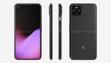 google pixel 5 rendery