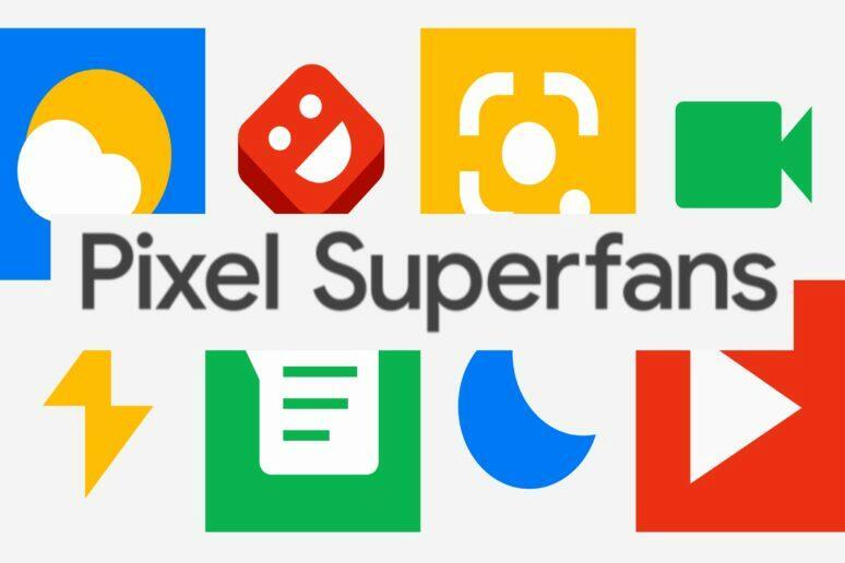 google pixel superfanousek