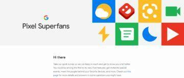 google pixel superfanoušek pozvánka
