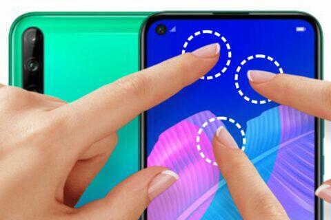 Huawei odemykání otiskem kdekoli na displeji