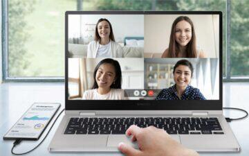 jak funguje Samsung DeX spojení s počítačem