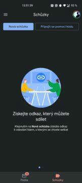jak vypnout meet schůzky v gmailu náhled funkce
