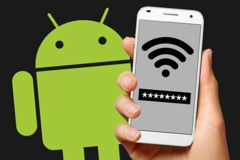 jak zjistit WiFi heslo v Androidu