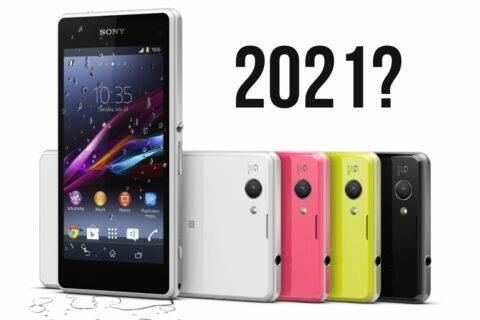 kompaktní telefony Sony 2021