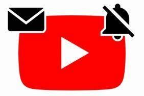 konec e-mailových notifikací YouTube