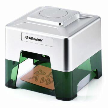 Laserová gravírovačka Alfawise C50 vypalování