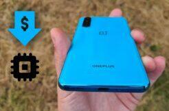 levnější OnePlus Nord procesor