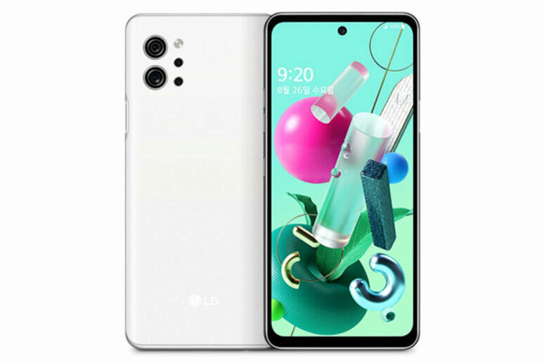 LG Q92 5g design