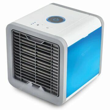Mini větrák, čistič a zvlhčovač vzduchu v jednom
