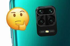 Netěsnící sklíčko fotoaparátu Xiaomi Redmi Note 9