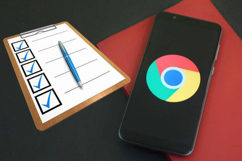 nezabezpečené webové formuláře google chrome