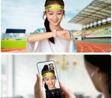 nové Xiaomi MiTu Kids Watch 4X na rukou